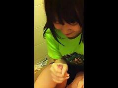 Sinuosa sesso anale filmati bionda affrontato con un pompino